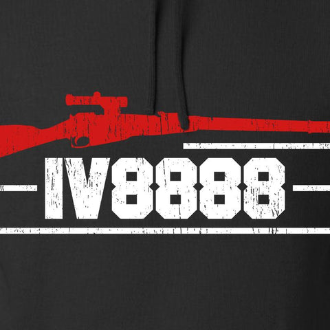 IV8888 IV8888 Logo Hoodie Hoodies [variant_title] by Ballistic Ink - Made in America USA