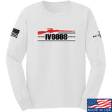 IV8888 IV8888 Logo Long Sleeve T-Shirt Long Sleeve Small / White by Ballistic Ink - Made in America USA