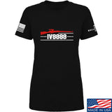 IV8888 Ladies IV8888 Logo T-Shirt T-Shirts SMALL / Black by Ballistic Ink - Made in America USA