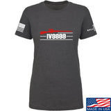 IV8888 Ladies IV8888 Logo T-Shirt T-Shirts SMALL / Charcoal by Ballistic Ink - Made in America USA