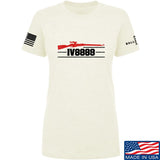 IV8888 Ladies IV8888 Logo T-Shirt T-Shirts SMALL / Cream by Ballistic Ink - Made in America USA