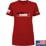 IV8888 Ladies IV8888 Logo T-Shirt T-Shirts SMALL / Red by Ballistic Ink - Made in America USA