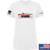 IV8888 Ladies IV8888 Logo T-Shirt T-Shirts SMALL / White by Ballistic Ink - Made in America USA