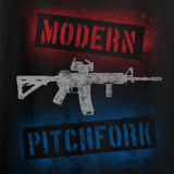 IV8888 Modern Pitchfork T-Shirt T-Shirts [variant_title] by Ballistic Ink - Made in America USA