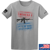 IV8888 Modern Pitchfork T-Shirt T-Shirts Small / Light Grey by Ballistic Ink - Made in America USA