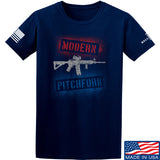IV8888 Modern Pitchfork T-Shirt T-Shirts Small / Navy by Ballistic Ink - Made in America USA