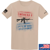 IV8888 Modern Pitchfork T-Shirt T-Shirts Small / Sand by Ballistic Ink - Made in America USA