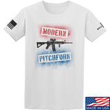 IV8888 Modern Pitchfork T-Shirt T-Shirts Small / White by Ballistic Ink - Made in America USA
