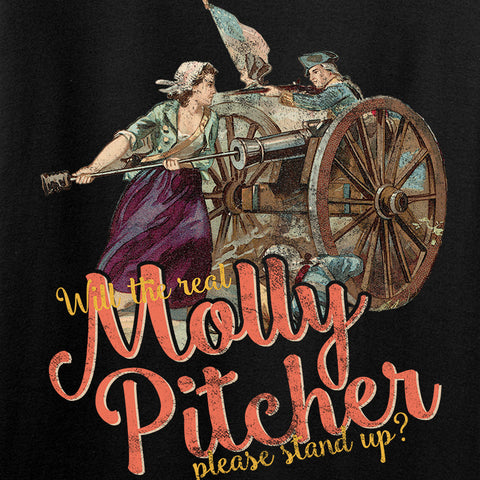 IV8888 Ladies Molly Pitcher V-Neck T-Shirts, V-Neck [variant_title] by Ballistic Ink - Made in America USA