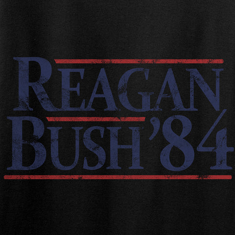 IV8888 Reagan Bush T-Shirt T-Shirts [variant_title] by Ballistic Ink - Made in America USA