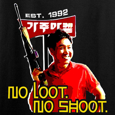No Loot No Shoot Roof Korean Tank