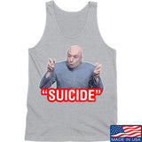 "IV8888 ""Suicide"" Tank Tanks SMALL / Light Grey by Ballistic Ink - Made in America USA"