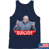 "IV8888 ""Suicide"" Tank Tanks SMALL / Navy by Ballistic Ink - Made in America USA"