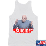 "IV8888 ""Suicide"" Tank Tanks SMALL / White by Ballistic Ink - Made in America USA"