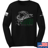 IV8888 Green Dragon Tavern Signage Long Sleeve T-Shirt Long Sleeve Small / Black by Ballistic Ink - Made in America USA