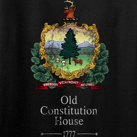 IV8888 Old Constitution House Tavern Signage T-Shirt T-Shirts [variant_title] by Ballistic Ink - Made in America USA