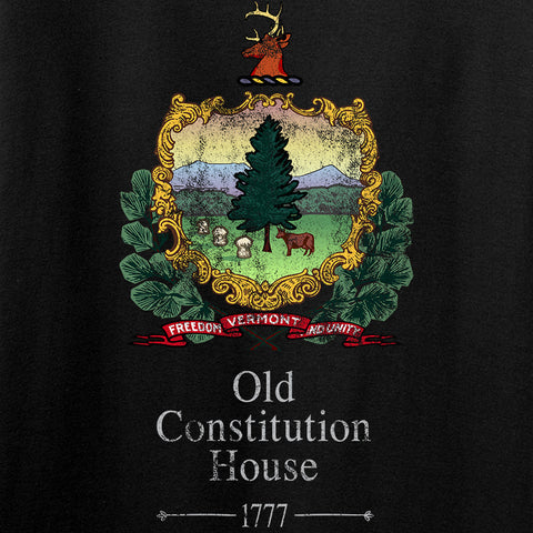 IV8888 Ladies Old Constitution House Tavern Signage V-Neck T-Shirts, V-Neck [variant_title] by Ballistic Ink - Made in America USA