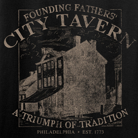 IV8888 Founding Fathers' City Tavern T-Shirt T-Shirts [variant_title] by Ballistic Ink - Made in America USA