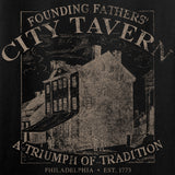 IV8888 Ladies Founding Fathers' City Tavern V-Neck T-Shirts, V-Neck [variant_title] by Ballistic Ink - Made in America USA