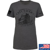 IV8888 Ladies Founding Fathers' City Tavern T-Shirt T-Shirts SMALL / Charcoal by Ballistic Ink - Made in America USA