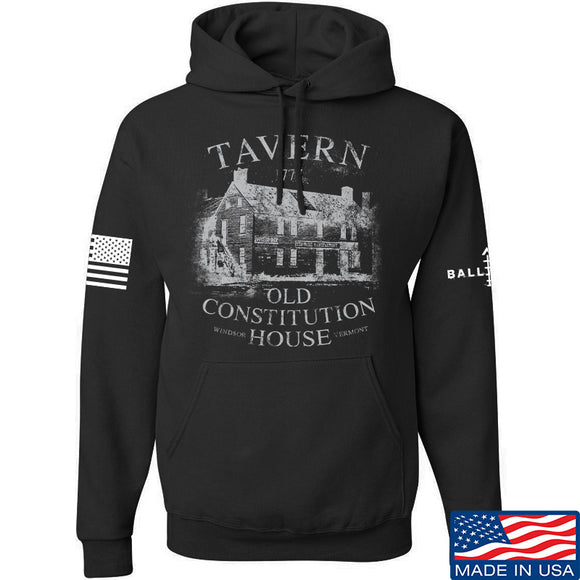 IV8888 Old Constitution House Tavern Hoodie Hoodies Small / Black by Ballistic Ink - Made in America USA