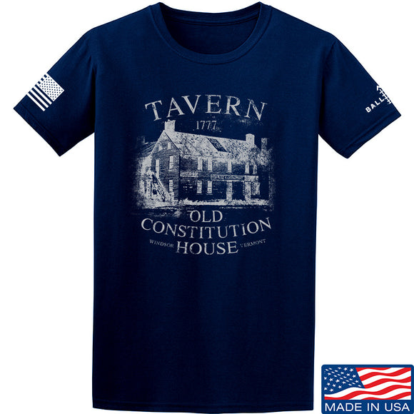 IV8888 Old Constitution House Tavern T-Shirt T-Shirts Small / Navy by Ballistic Ink - Made in America USA