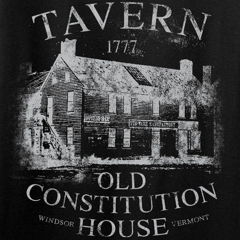 IV8888 Ladies Old Constitution House Tavern V-Neck T-Shirts, V-Neck [variant_title] by Ballistic Ink - Made in America USA