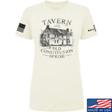 IV8888 Ladies Old Constitution House Tavern T-Shirt T-Shirts SMALL / Cream by Ballistic Ink - Made in America USA