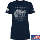 IV8888 Ladies Old Constitution House Tavern T-Shirt T-Shirts SMALL / Navy by Ballistic Ink - Made in America USA
