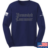 IV8888 Unwashed Commoner Long Sleeve T-Shirt Long Sleeve Small / Navy by Ballistic Ink - Made in America USA