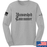 IV8888 Unwashed Commoner Long Sleeve T-Shirt Long Sleeve Small / Light Grey by Ballistic Ink - Made in America USA