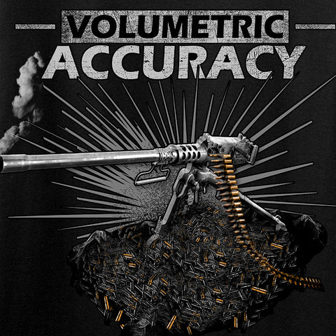 IV8888 Volumetric Accuracy Long Sleeve T-Shirt Long Sleeve [variant_title] by Ballistic Ink - Made in America USA