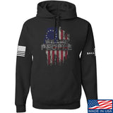 IV8888 We The People Hoodie Hoodies Small / Black by Ballistic Ink - Made in America USA