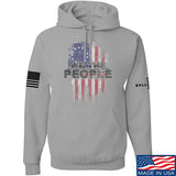 IV8888 We The People Hoodie Hoodies Small / Light Grey by Ballistic Ink - Made in America USA