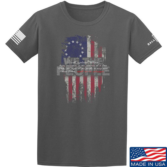 IV8888 We The People T-Shirt T-Shirts Small / Charcoal by Ballistic Ink - Made in America USA