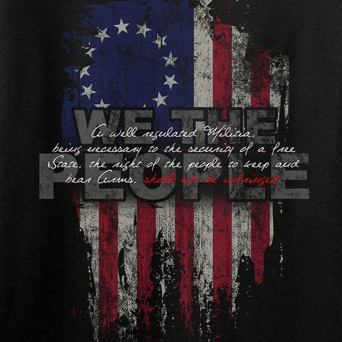 IV8888 Ladies We The People T-Shirt T-Shirts [variant_title] by Ballistic Ink - Made in America USA