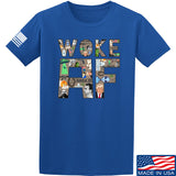 IV8888 Woke AF T-Shirt T-Shirts Small / Blue by Ballistic Ink - Made in America USA