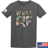IV8888 Woke AF T-Shirt T-Shirts Small / Charcoal by Ballistic Ink - Made in America USA