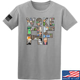 IV8888 Woke AF T-Shirt T-Shirts Small / Light Grey by Ballistic Ink - Made in America USA
