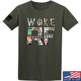 IV8888 Woke AF T-Shirt T-Shirts Small / Military Green by Ballistic Ink - Made in America USA