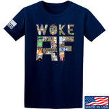 IV8888 Woke AF T-Shirt T-Shirts Small / Navy by Ballistic Ink - Made in America USA