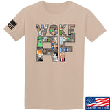 IV8888 Woke AF T-Shirt T-Shirts Small / Sand by Ballistic Ink - Made in America USA