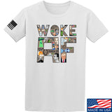 IV8888 Woke AF T-Shirt T-Shirts Small / White by Ballistic Ink - Made in America USA