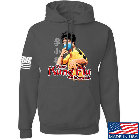 Your Kung Flu Is Weak Hoodie