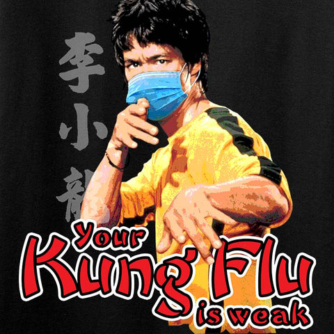 Your Kung Flu Is Weak Long Sleeve T-Shirt