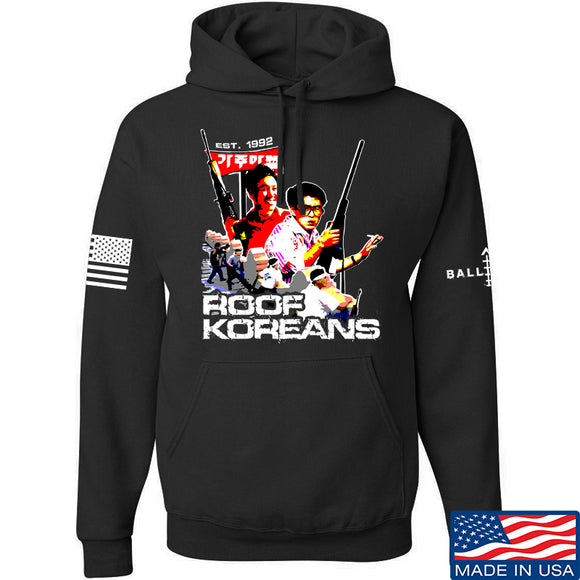 IV8888 Roof Koreans Hoodie Hoodies Small / Black by Ballistic Ink - Made in America USA