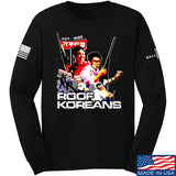 IV8888 Roof Koreans Long Sleeve T-Shirt Long Sleeve Small / Black by Ballistic Ink - Made in America USA