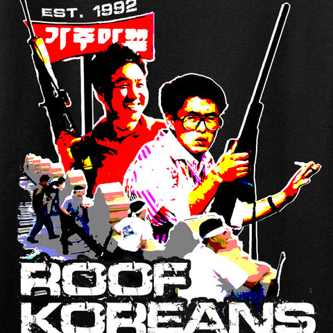 IV8888 Roof Koreans Long Sleeve T-Shirt Long Sleeve [variant_title] by Ballistic Ink - Made in America USA
