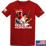 IV8888 Roof Koreans T-Shirt T-Shirts Small / Red by Ballistic Ink - Made in America USA