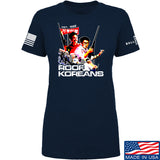 IV8888 Ladies Roof Koreans T-Shirt T-Shirts SMALL / Navy by Ballistic Ink - Made in America USA